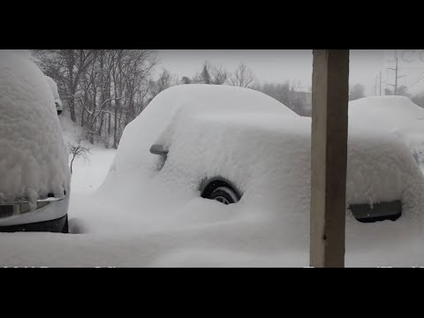 Time Lapse of Record Snow Storm