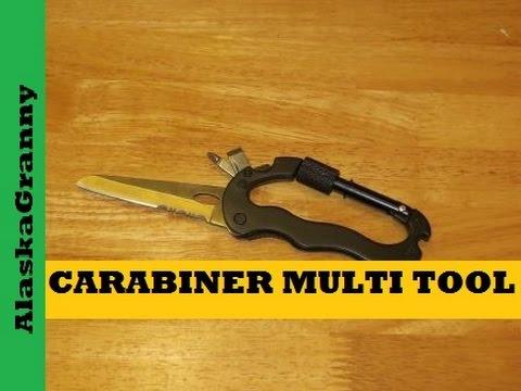 Carabiner 5 in 1 Multi Tool