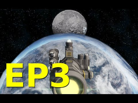 Space Engineers – EP3 – Survival Earth to the Moon Tutorial – Mods, building a mining machine