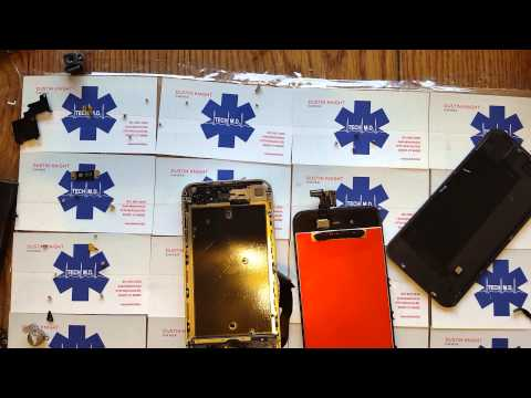 iPhone 4 CDMA Verizon LCD and Glass replacement Tech MD 6-14-2015