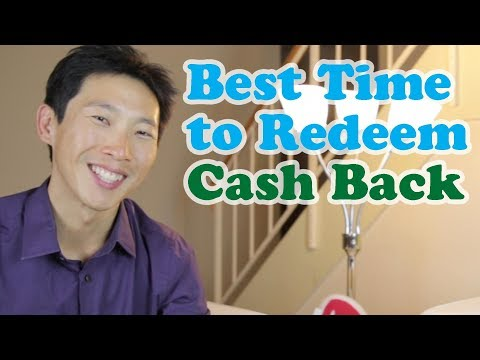 When to Redeem Cash Back on Credit Cards