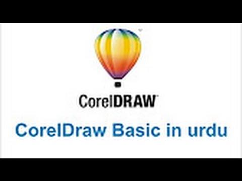 coreldraw in urdu / hindi tutorial Part 5 Creative graphics