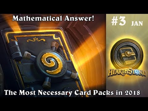 What Hearthstone packs should buy in 2018? Math Answer (Dec - Jan) #3