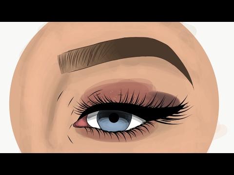 Eye tutorial ( adobe draw )