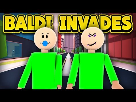 BALDI IN JAILBREAK! (ROBLOX Jailbreak)