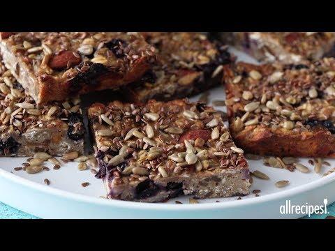 Blueberry Banana Breakfast Bars | Breakfast Recipes | Allrecipes.com