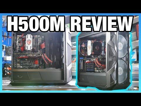 Cooler Master H500M Case Review vs. H500P Mesh & H500P