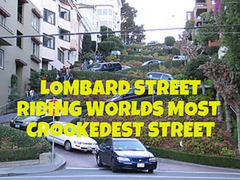 Lombard Street - Riding world's most