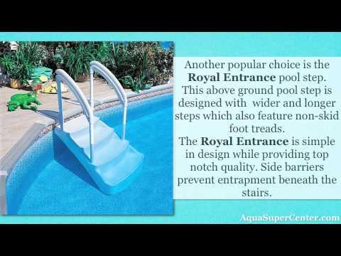 Popular Above Ground Pool Steps