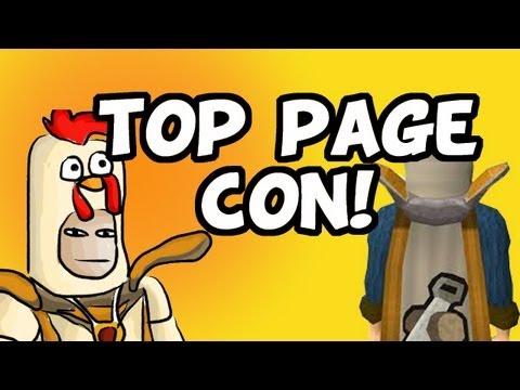 RuneScape 2007 - Top Page Construction!