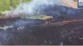 Kilauea Eruptions Continue as 19th Fissure Opens in Lanipuna Gardens Subdivision
