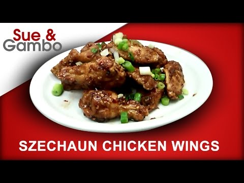 How to make Szechuan Chicken Wings