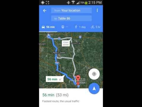 How to avoid Toll Roads in Google Maps.