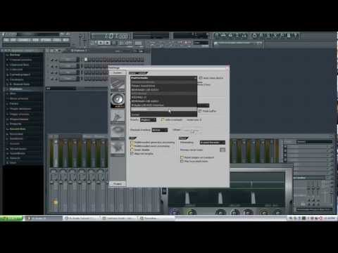 Setting up your audio interface or soundcard in FL Studio