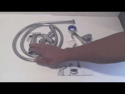 Handheld Bidet Sprayer Installation and Review