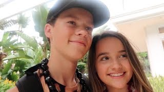 Annie LeBlanc & Hayden Summerall Taking Selfies Together On Vacation