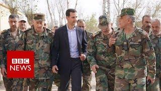 Syria war: President Assad