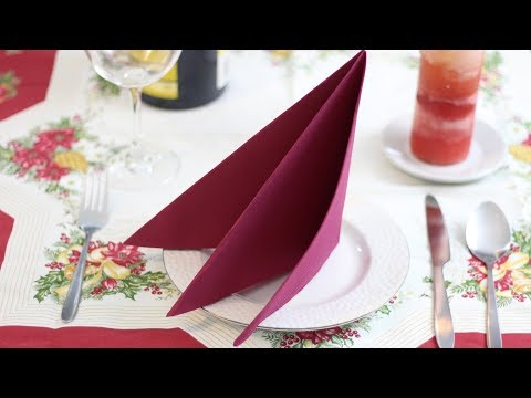 DIY: Napkins Table Decoration ✂