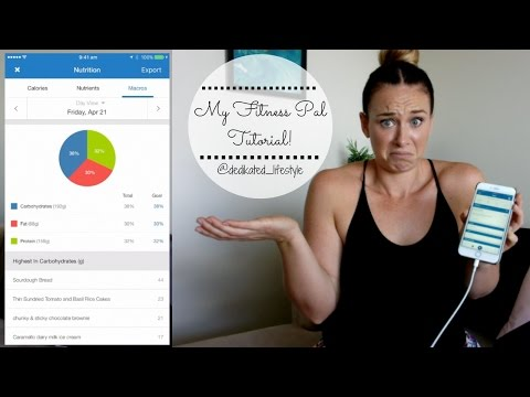 MY FITNESS PAL TUTORIAL! // Everything you need to know to make progress and start counting macros!