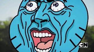 The Neighbor [FUNNY MOMENTS] | Amazing World of Gumball (Season 6)