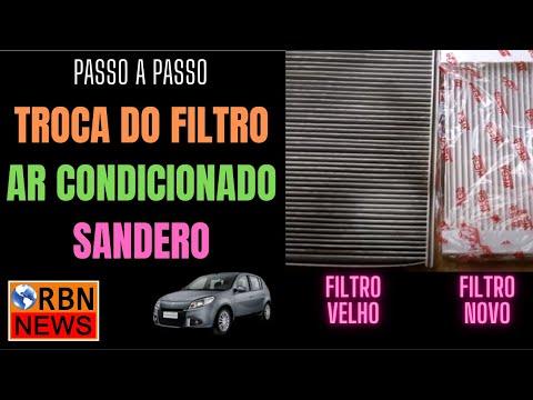 SANDERO   FILTRO DO AR CONDICIONADO