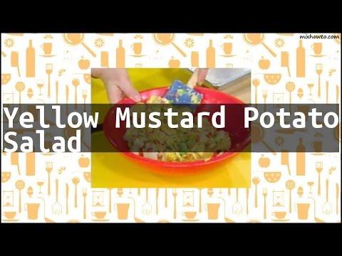Recipe Yellow Mustard Potato Salad