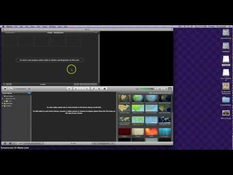 Making Slideshows using iMovie 11 - Part 1