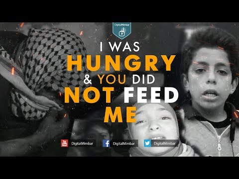I was Hungry & you did NOT FEED Me - Mufti Menk & Abu Usamah
