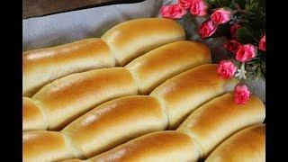 خبز الحليب الهش الصحي والمفيد للأطفال والمدارس بدون زبدة طري كالقطن  مع رباح محمد ( الحلقة 407 )