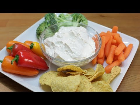 How to make Garlic Dip | Easy Creamy Garlic Dip Recipe