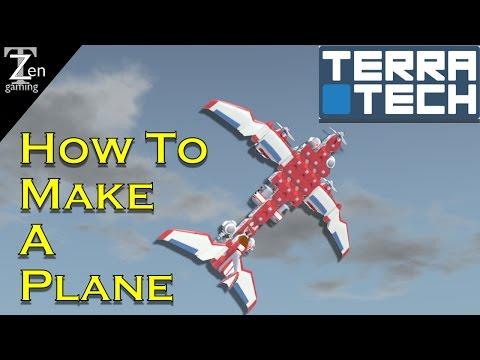 TerraTech How To Make A Plane EP 17 (Season 3)