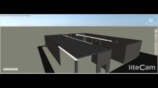 Hollow Core Slab - build up in Autodesk Navisworks 2015