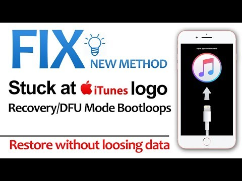Fix Stuck on iTunes Logo Loop   Restore Without Data Loss