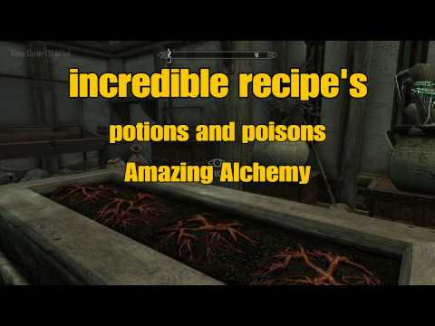 5 Must Have Skyrim SE Potions and Poisons Part 1 Alchemy Made Easy