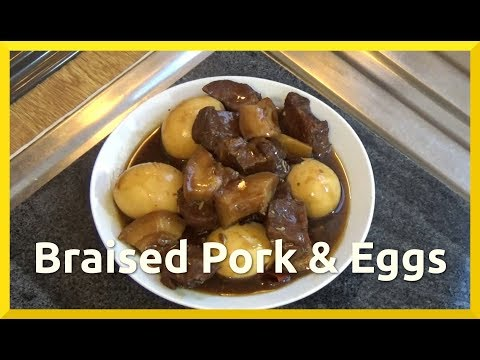How to Cook Chinese Braised Pork and Eggs