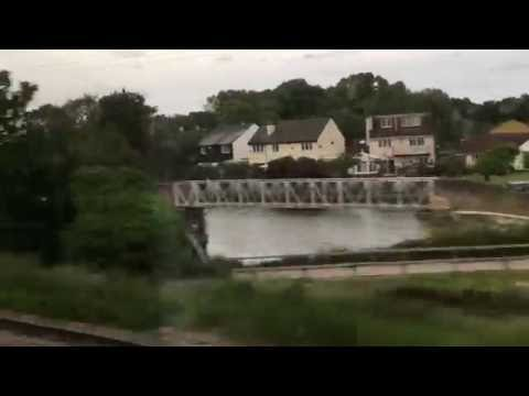 A Ride on the Stansted Express: London Liverpool Street to London Stansted Airport, England: 30/5/16