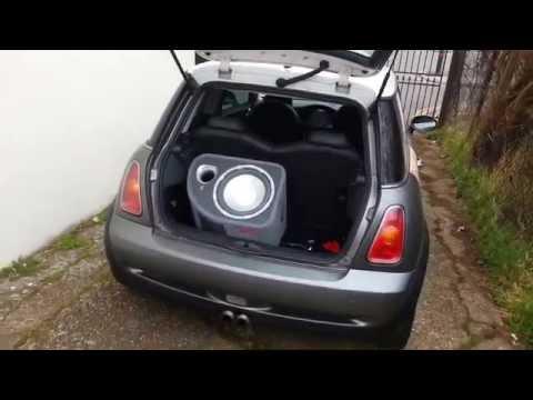 Mini Cooper S R53 Subwoofer Car Audio Install
