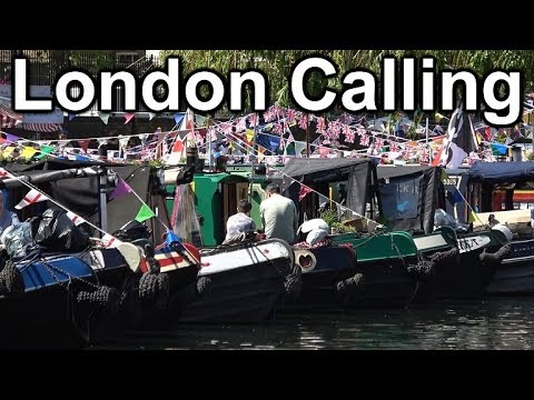 132. The IWA Cavalcade 2018 - narrowboats descend on the canals of London's Little Venice