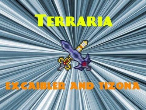 Terraria Excalibur and Tizona