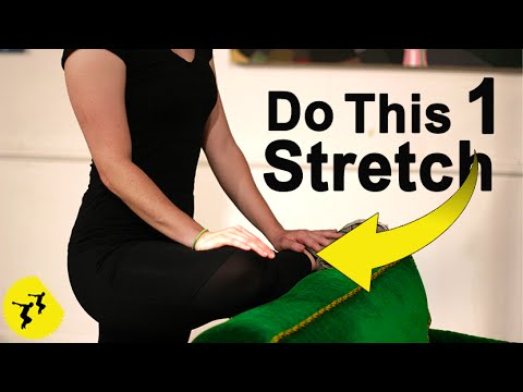 Fix Tight Hips With This 1 Stretch - Feat. Caitlin Geier