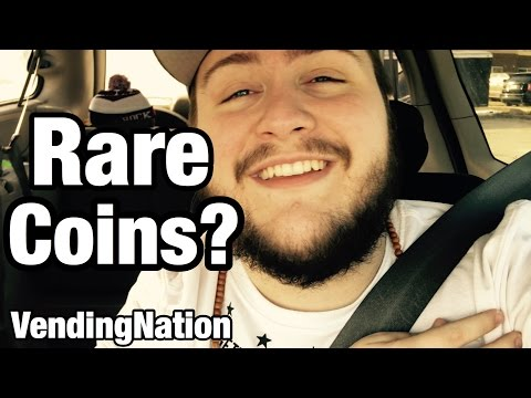 Collecting Silver Quarters | VendingNation 025