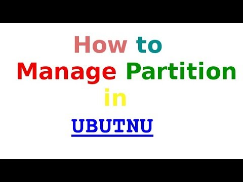 how to manage partitions in ubuntu 17.04(Create-Format-Delete-Resize)