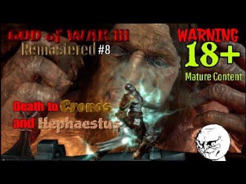 GOD of WAR III Remastered #8 Death of Cronos and Hephaestus
