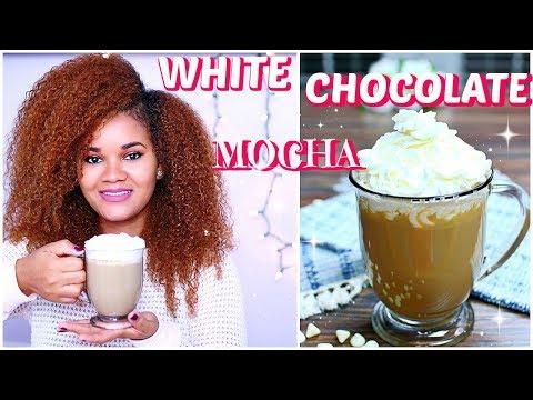 WHITE CHOCOLATE MOCHA - How to Make the Best White Chocolate Mocha Recipe