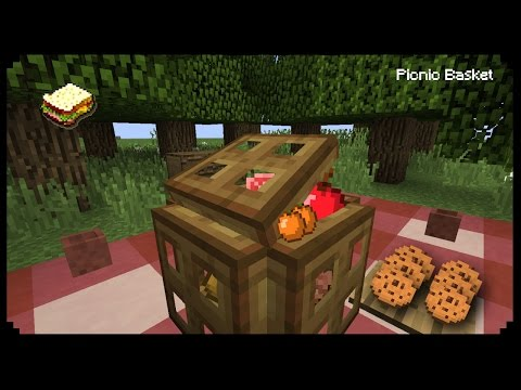 ✔ Minecraft: How to make a Picnic Basket