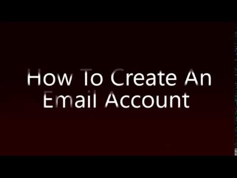 [How To] Create Email - How To Create An Email Account Tutorial