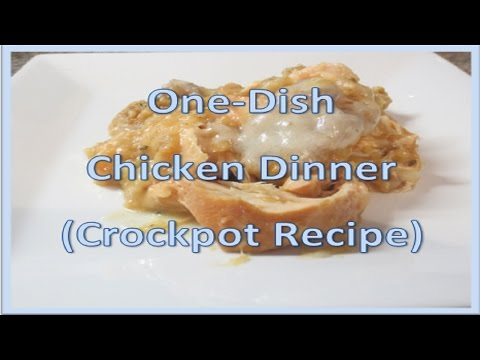 Easy Chicken Crockpot Dish