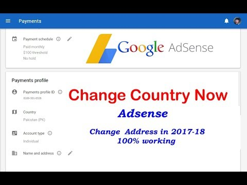 How to Change Country or address Google Adsense Account Best easy way