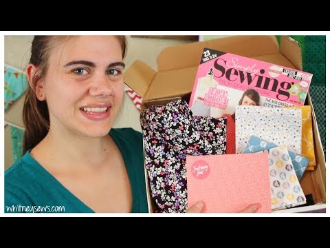 October Sew Hayley Jane Unboxing and Giveaway {CLOSED}  | Whitney Sews