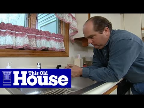 How to Repair a Clogged Kitchen Sink Hose - This Old House